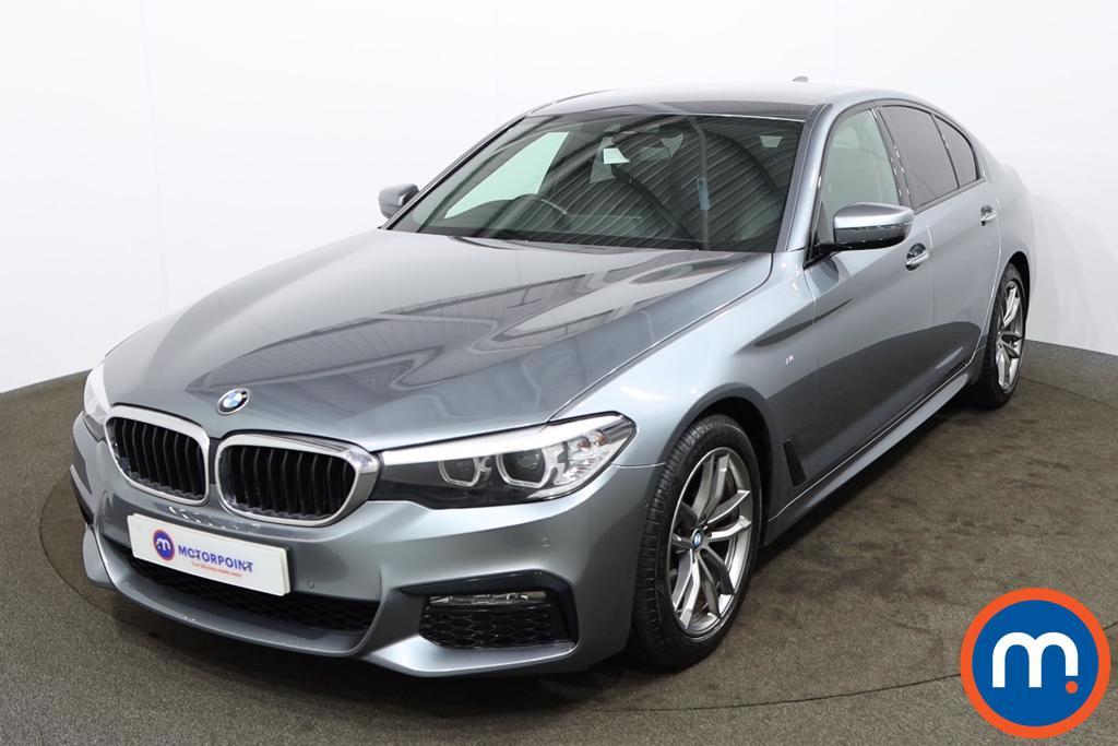 BMW 5 Series 520d M Sport 4dr Auto - Stock Number 1174140 Passenger side front corner