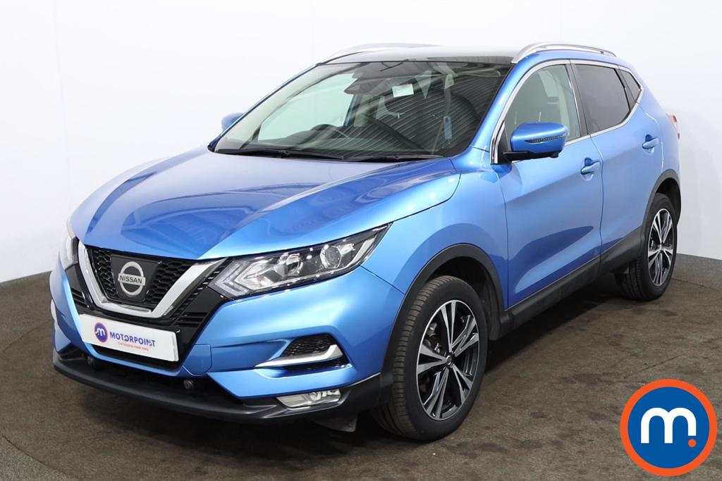 Nissan Qashqai 1.2 DiG-T N-Connecta [Glass Roof Pack] 5dr - Stock Number 1175114 Passenger side front corner