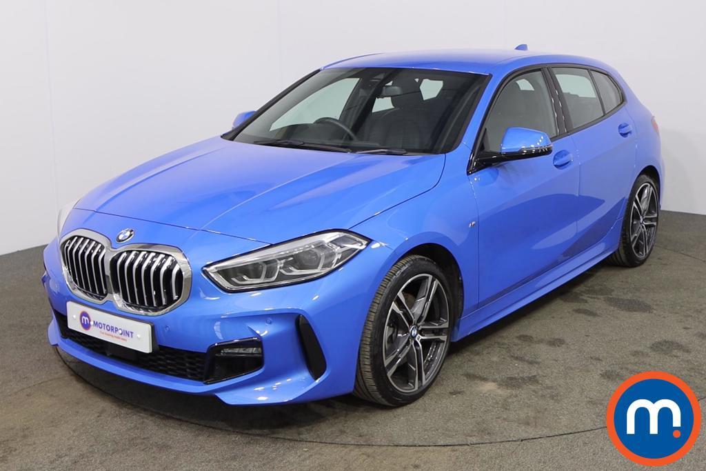 BMW 1 Series 118i M Sport 5dr Step Auto - Stock Number 1171776 Passenger side front corner