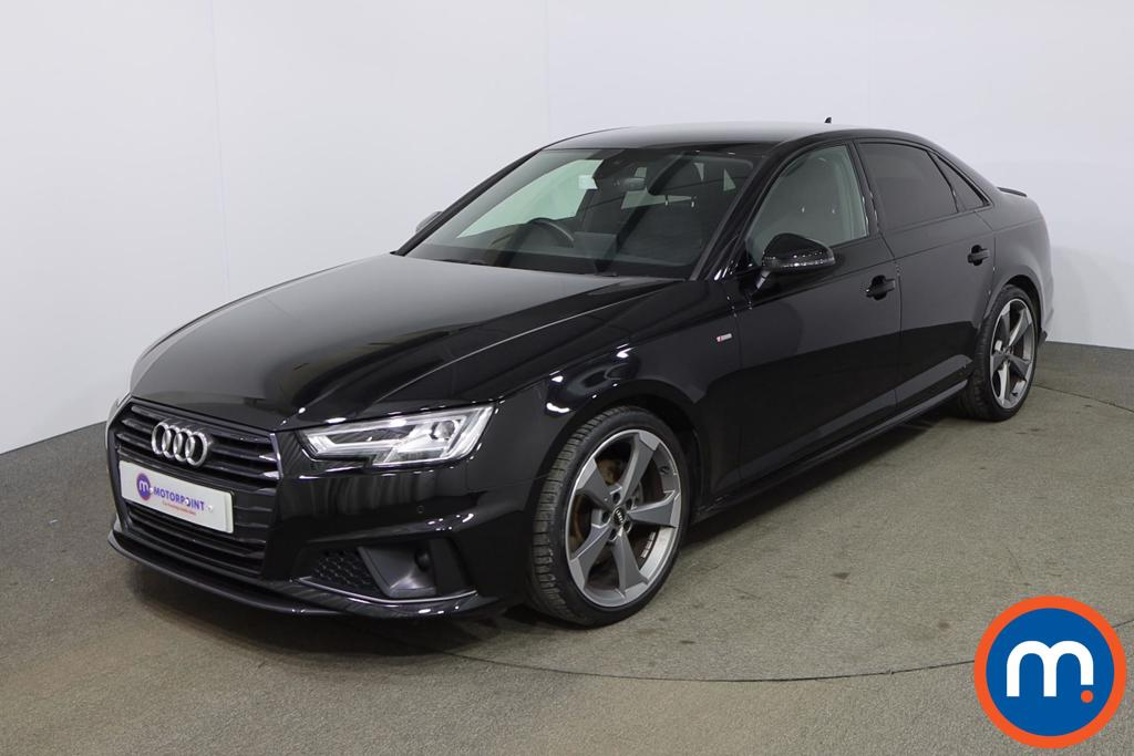 Audi A4 40 TFSI Black Edition 4dr S Tronic - Stock Number 1173646 Passenger side front corner