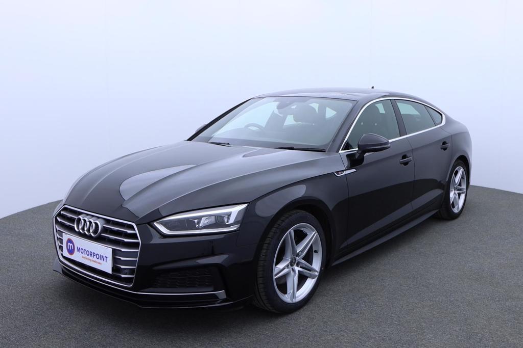 Audi A5 1.4 TFSI S Line 5dr S Tronic - Stock Number 1173718 Passenger side front corner