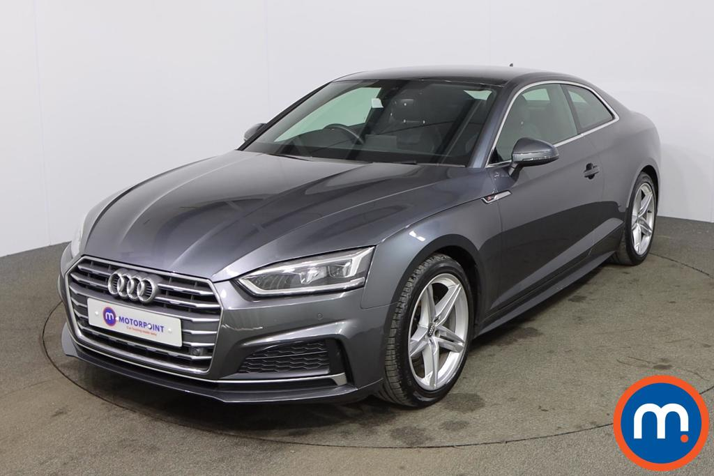 Audi A5 1.4 TFSI S Line 2dr S Tronic - Stock Number 1174418 Passenger side front corner