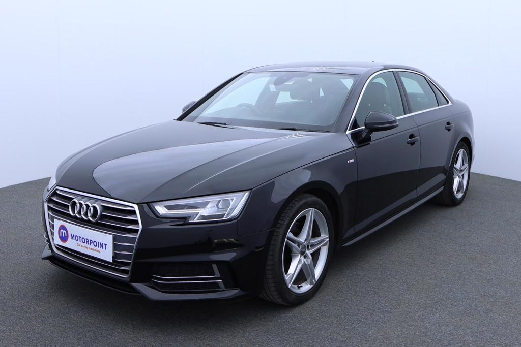 Audi A4 1.4T FSI S Line 4dr [Leather-Alc] - Stock Number 1174541 Passenger side front corner