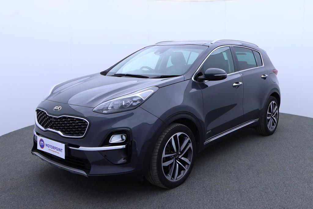 KIA Sportage 1.6 CRDi ISG 4 5dr DCT Auto [AWD] - Stock Number 1174811 Passenger side front corner