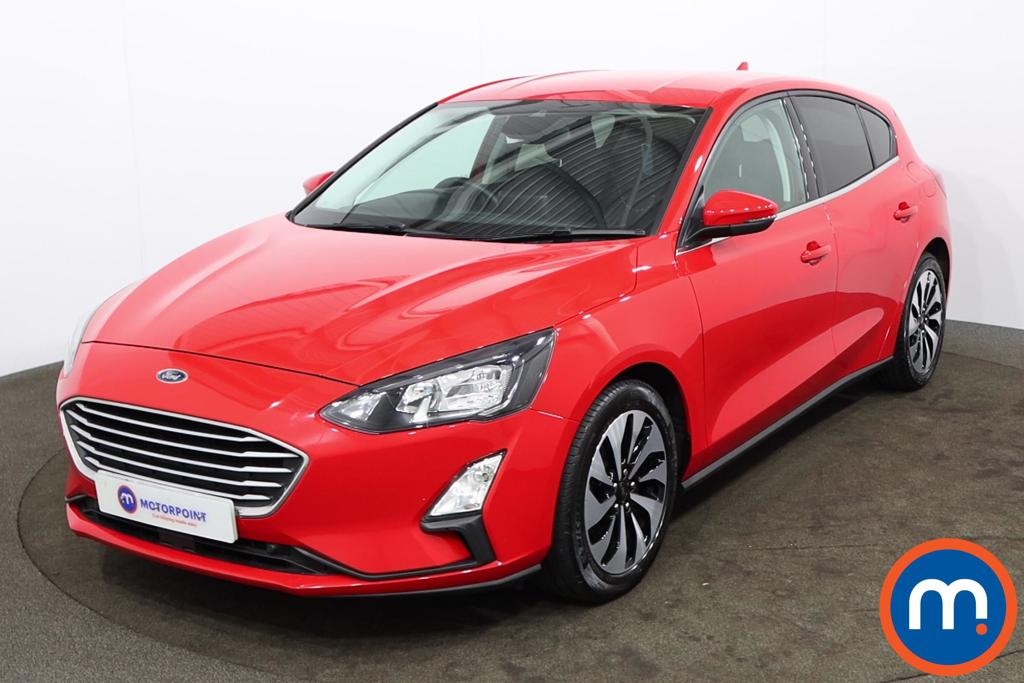 Ford Focus 1.0 EcoBoost 100 Zetec Nav 5dr - Stock Number 1175259 Passenger side front corner