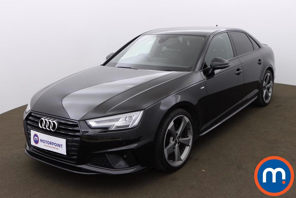 Audi A4 40 TFSI Black Edition 4dr S Tronic [Tech Pack] - Stock Number 1175300 Passenger side front corner