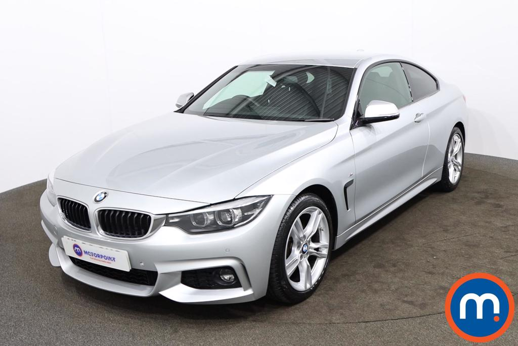 BMW 4 Series 420d [190] M Sport 2dr Auto [Professional Media] - Stock Number 1175326 Passenger side front corner