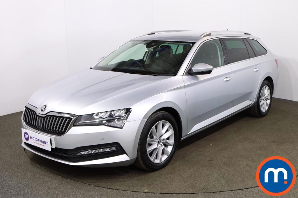 Skoda Superb 1.5 TSI SE Technology 5dr - Stock Number 1173165 Passenger side front corner