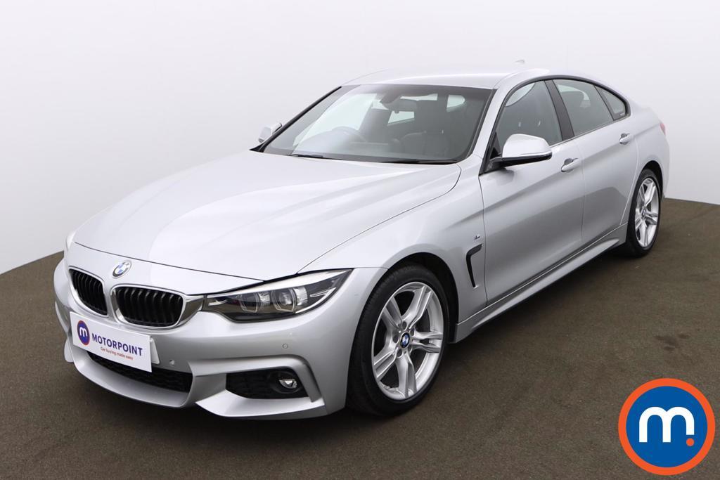 BMW 4 Series 420d [190] M Sport 5dr [Professional Media] - Stock Number 1174576 Passenger side front corner