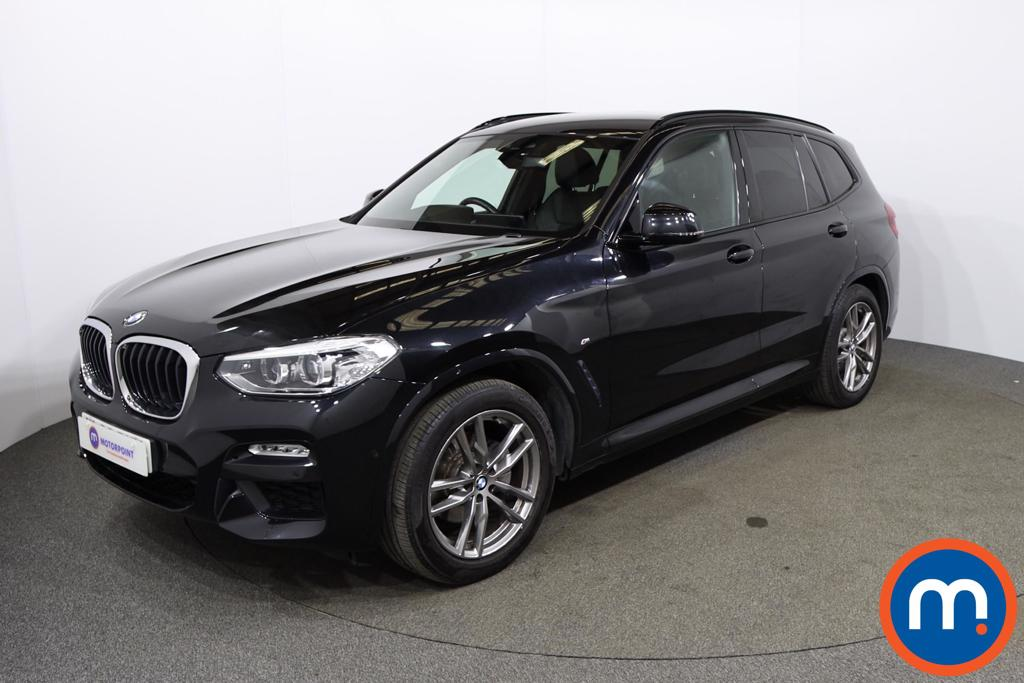 BMW X3 xDrive20d M Sport 5dr Step Auto - Stock Number 1176025 Passenger side front corner