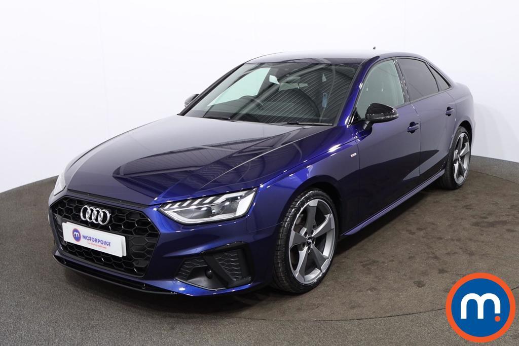 Audi A4 40 TFSI Black Edition 4dr S Tronic - Stock Number 1172320 Passenger side front corner