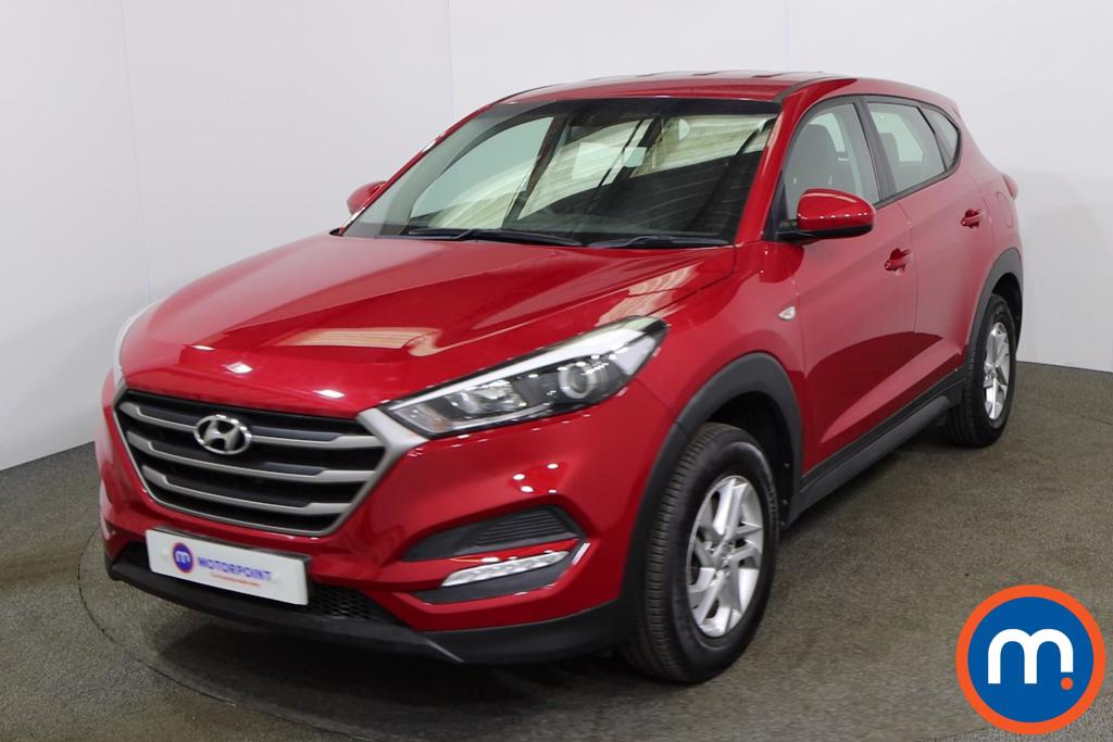 Hyundai Tucson 1.6 GDi Blue Drive S 5dr 2WD - Stock Number 1173314 Passenger side front corner