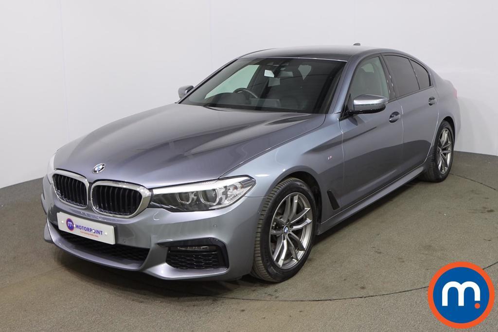 BMW 5 Series 520i M Sport 4dr Auto - Stock Number 1177024 Passenger side front corner