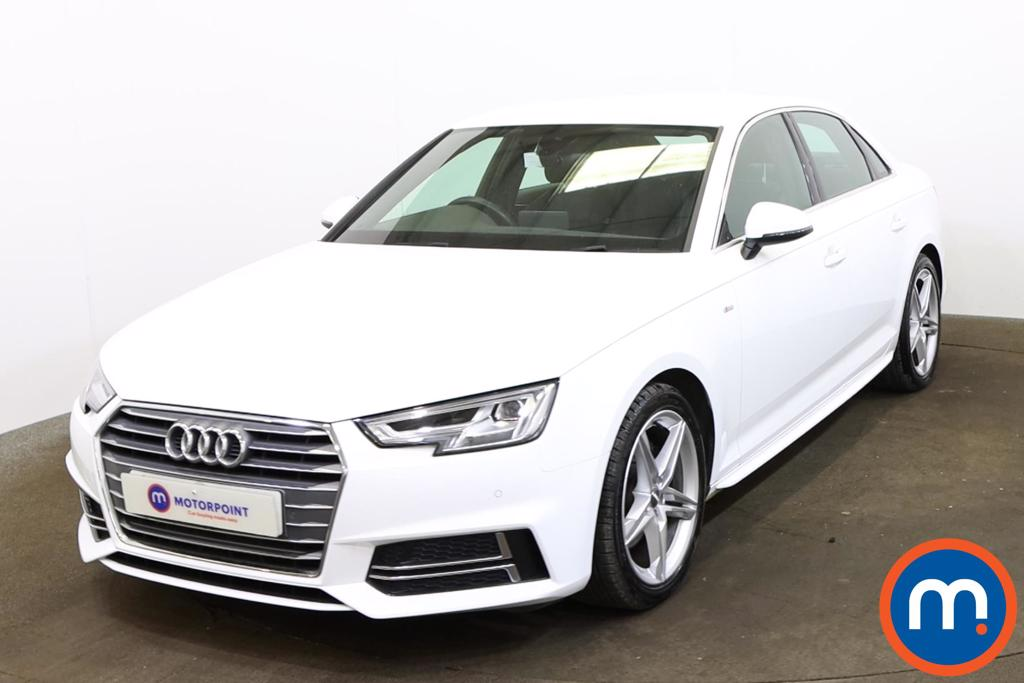 Audi A4 1.4T FSI S Line 4dr S Tronic [Leather-Alc] - Stock Number 1173705 Passenger side front corner