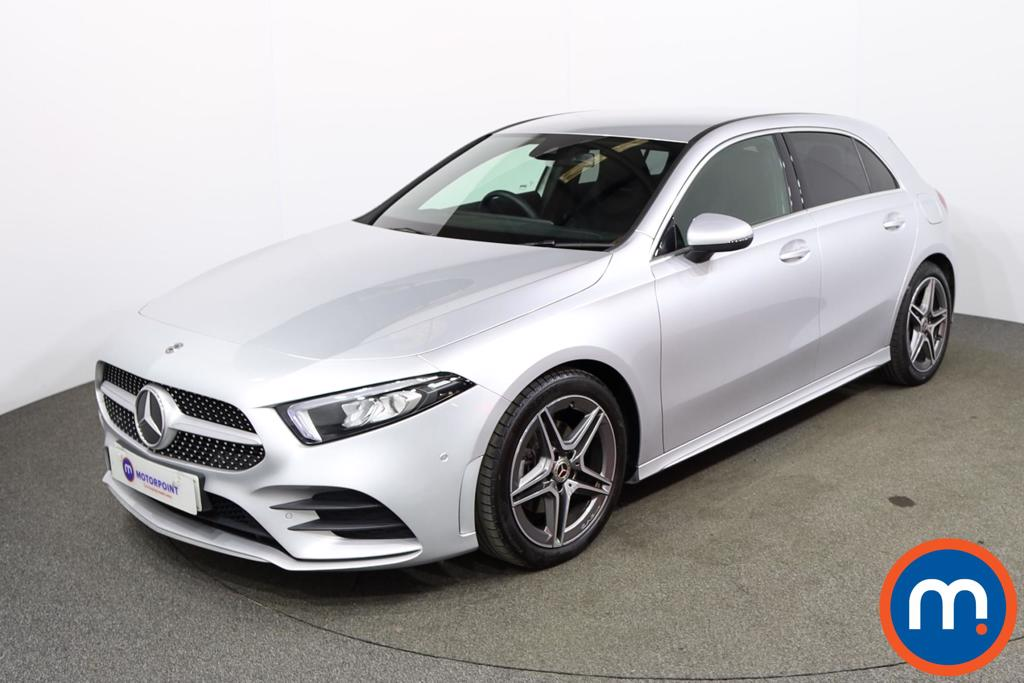 Mercedes-Benz A Class A180 AMG Line Executive 5dr - Stock Number 1173039 Passenger side front corner