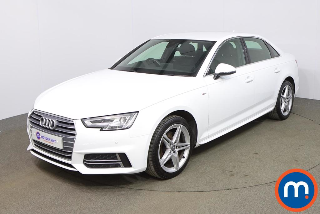 Audi A4 1.4T FSI S Line 4dr [Leather-Alc] - Stock Number 1174404 Passenger side front corner