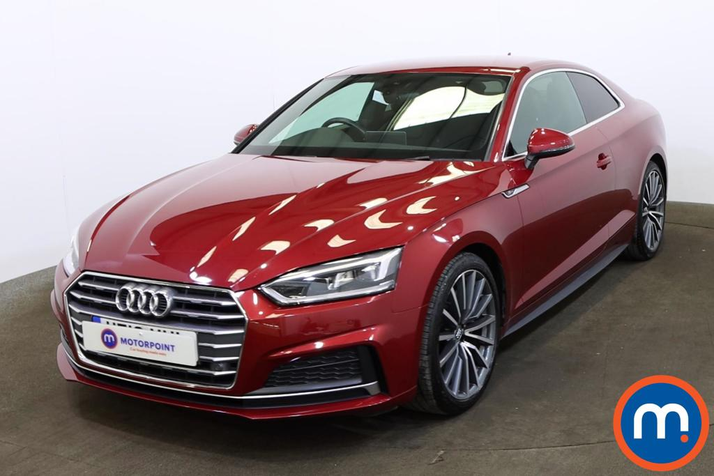 Audi A5 2.0 TDI S Line 2dr S Tronic [Tech Pack] - Stock Number 1150241 Passenger side front corner