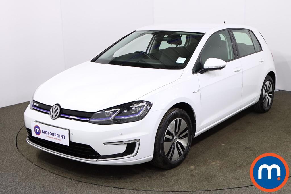 Volkswagen Golf 99kW e-Golf 35kWh 5dr Auto - Stock Number 1170573 Passenger side front corner