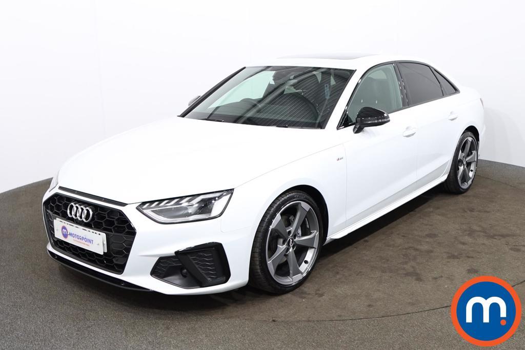 Audi A4 35 TFSI Black Edition 4dr S Tronic [Comfort-PlusSound] - Stock Number 1174261 Passenger side front corner