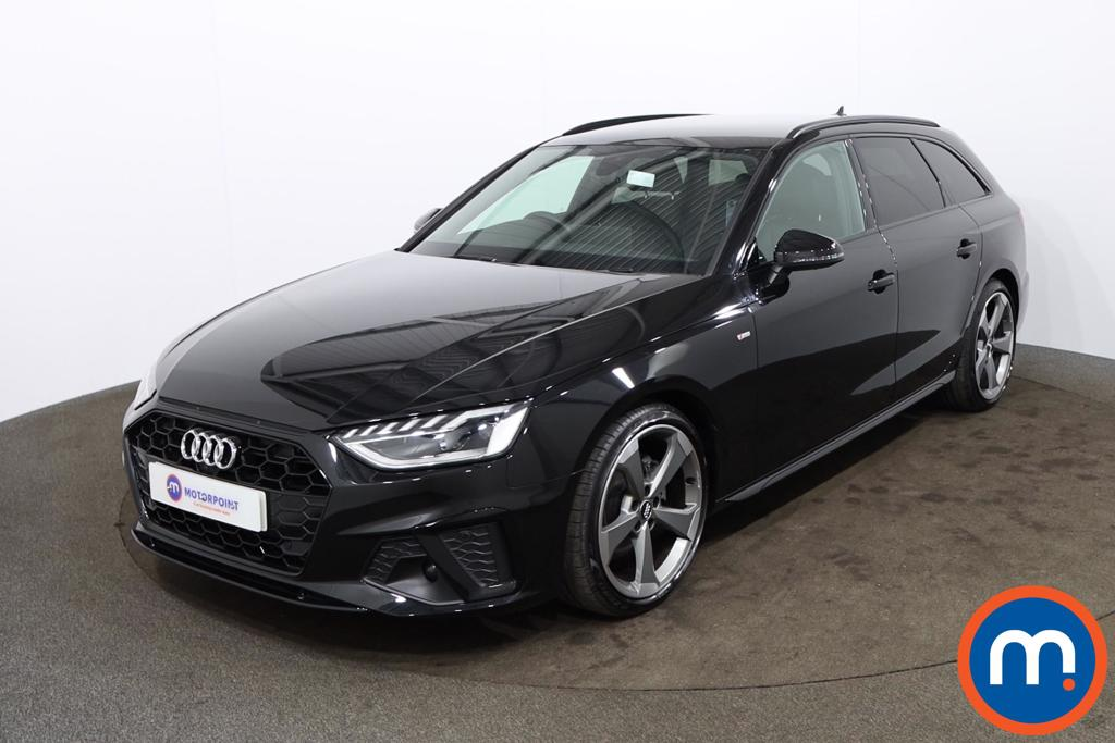 Audi A4 35 TFSI Black Edition 5dr S Tronic [Comfort-PlusSound] - Stock Number 1178571 Passenger side front corner
