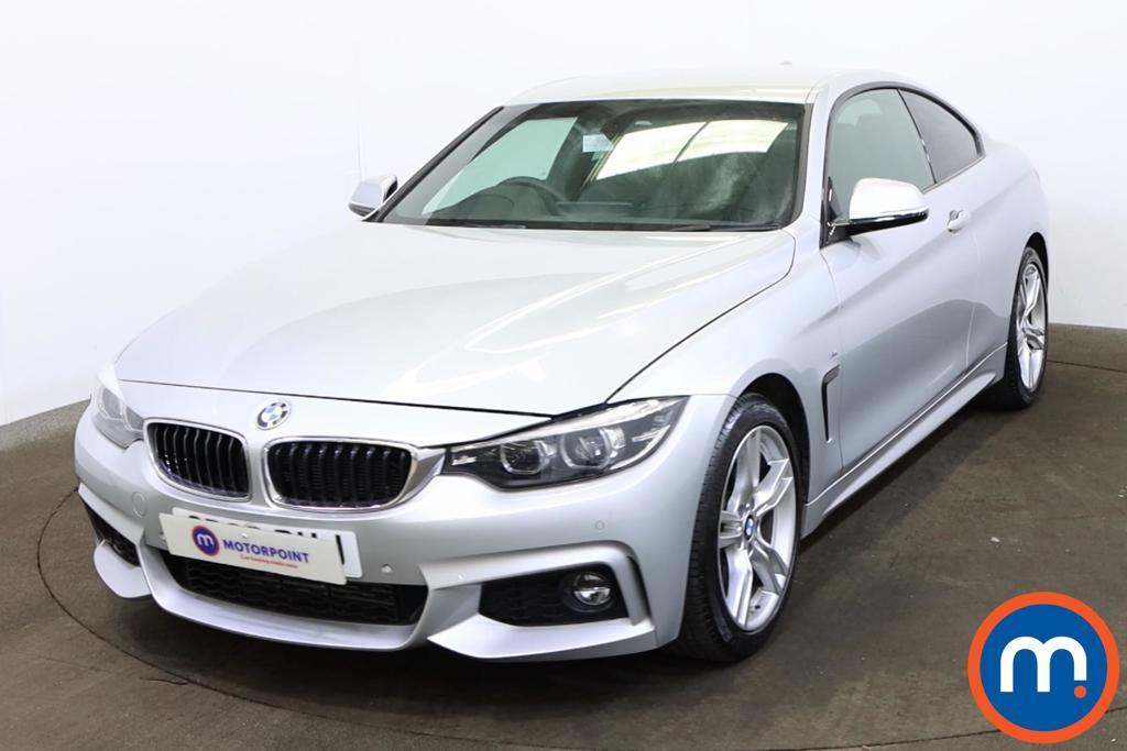 BMW 4 Series 420d [190] M Sport 2dr Auto [Professional Media] - Stock Number 1171098 Passenger side front corner