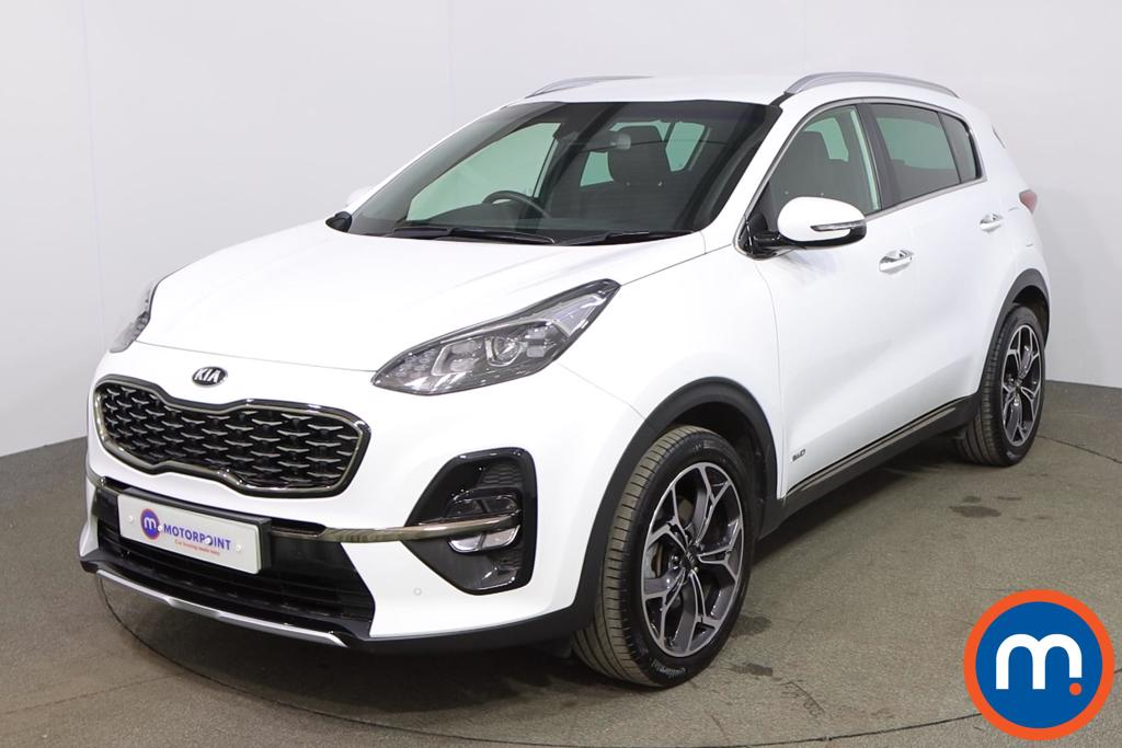KIA Sportage 1.6T GDi ISG GT-Line 5dr DCT Auto [AWD] - Stock Number 1177475 Passenger side front corner