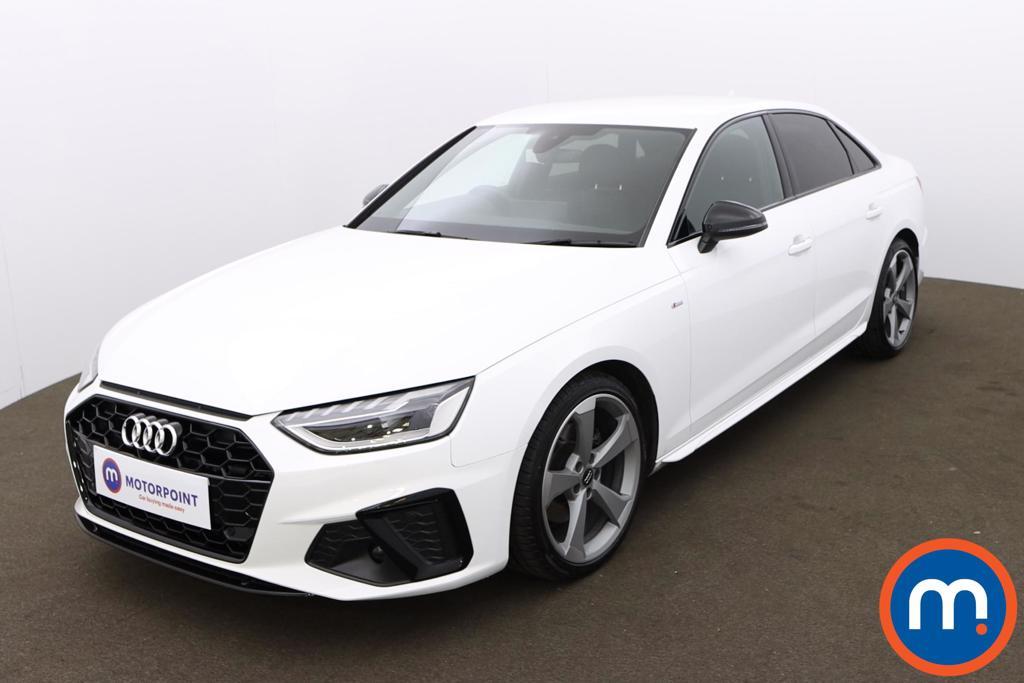Audi A4 35 TFSI Black Edition 4dr S Tronic - Stock Number 1175427 Passenger side front corner