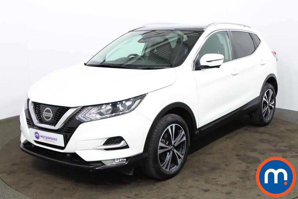 Nissan Qashqai 1.2 DiG-T N-Connecta [Glass Roof Pack] 5dr - Stock Number 1177909 Passenger side front corner