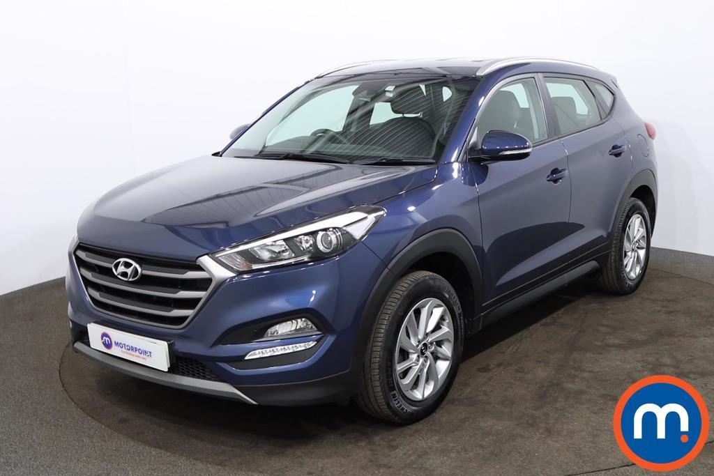 Hyundai Tucson 1.6 GDi Blue Drive SE 5dr 2WD - Stock Number 1177925 Passenger side front corner