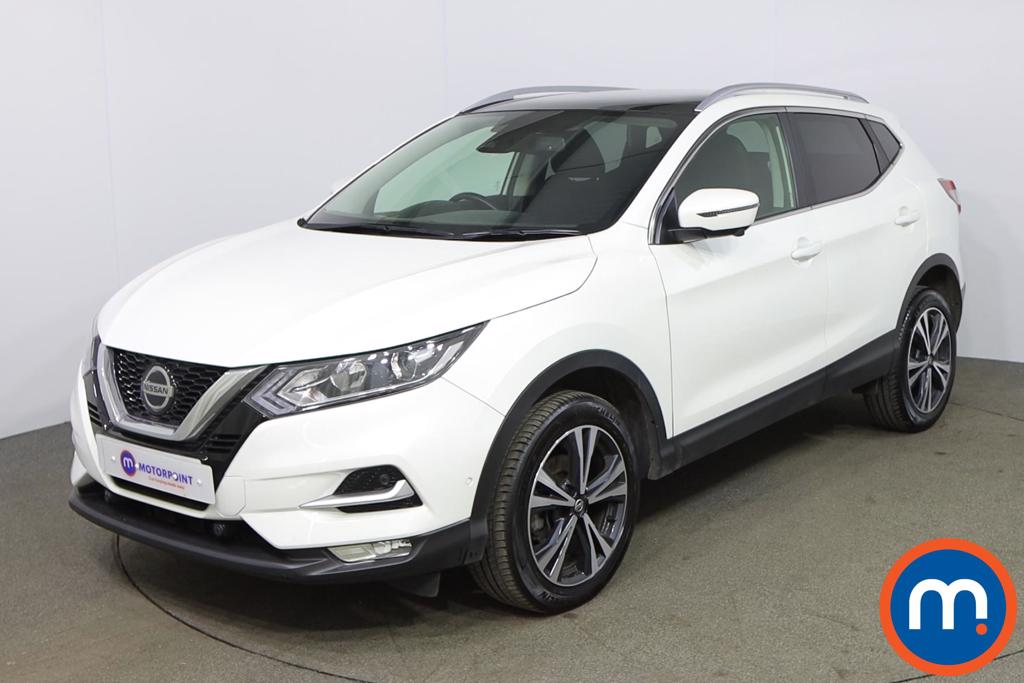 Nissan Qashqai 1.3 DiG-T N-Connecta 5dr [Glass Roof Pack] - Stock Number 1179133 Passenger side front corner