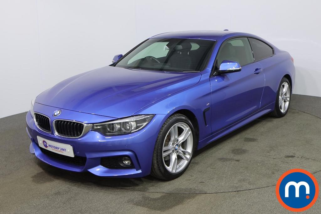 BMW 4 Series 420i M Sport 2dr [Professional Media] - Stock Number 1177355 Passenger side front corner