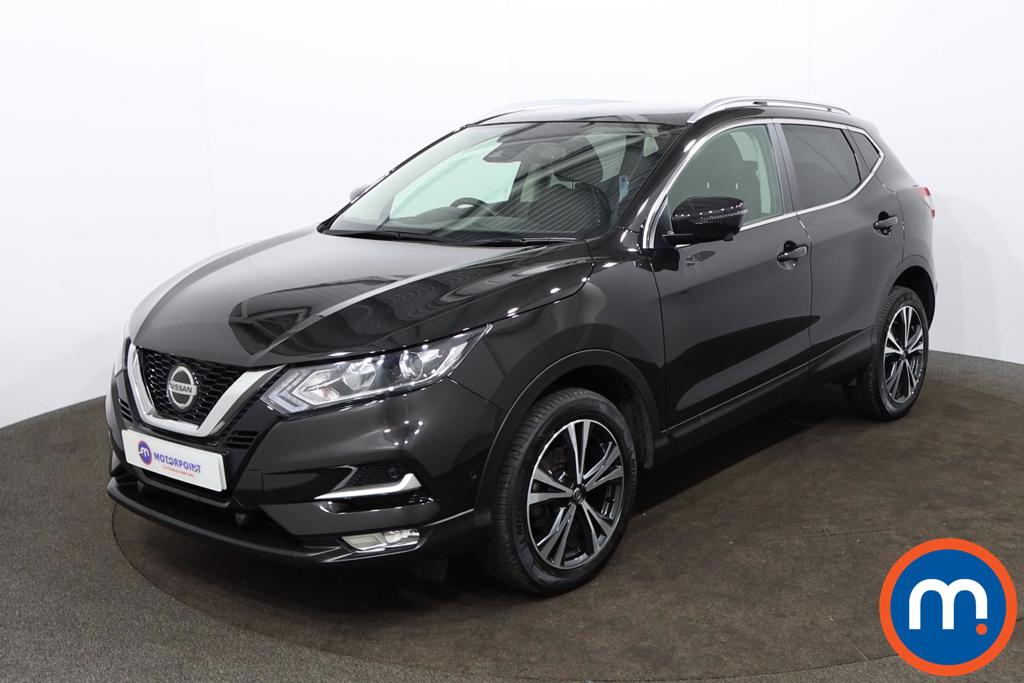 Nissan Qashqai 1.3 DiG-T N-Connecta 5dr [Glass Roof Pack] - Stock Number 1179029 Passenger side front corner