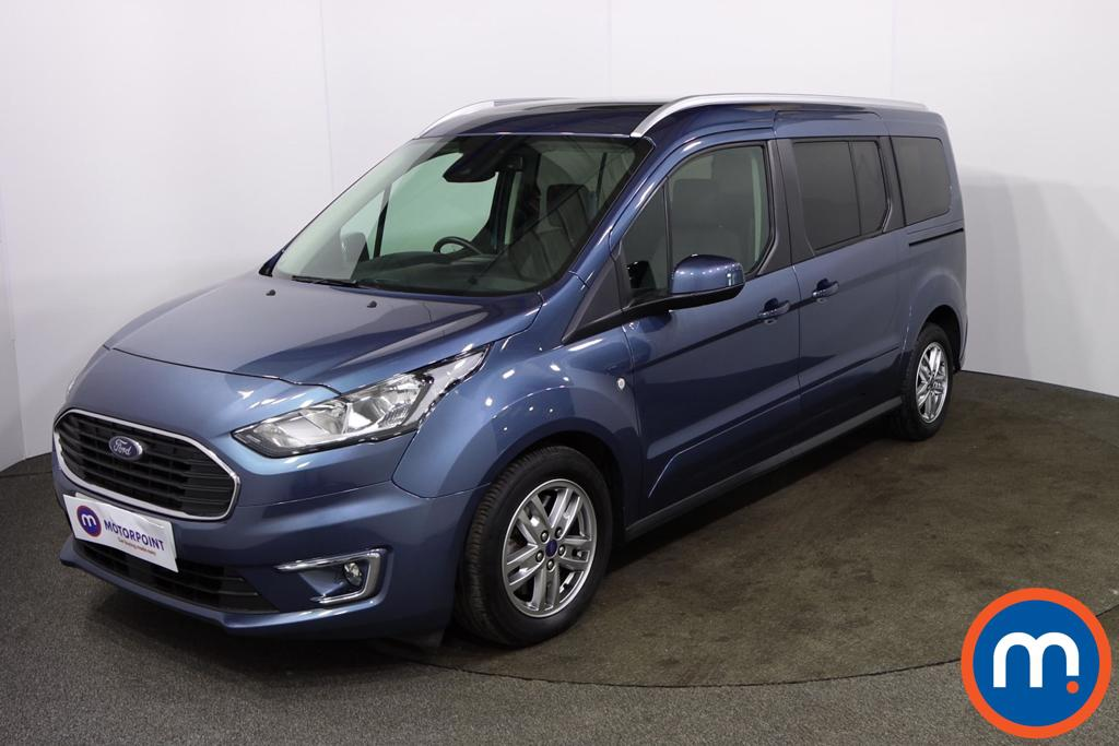 Ford Grand Tourneo Connect 1.5 EcoBlue 120 Titanium 5dr Powershift - Stock Number 1172596 Passenger side front corner