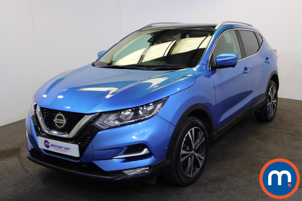 Nissan Qashqai 1.3 DiG-T 160 N-Connecta 5dr [Glass Roof Pack] - Stock Number 1178097 Passenger side front corner
