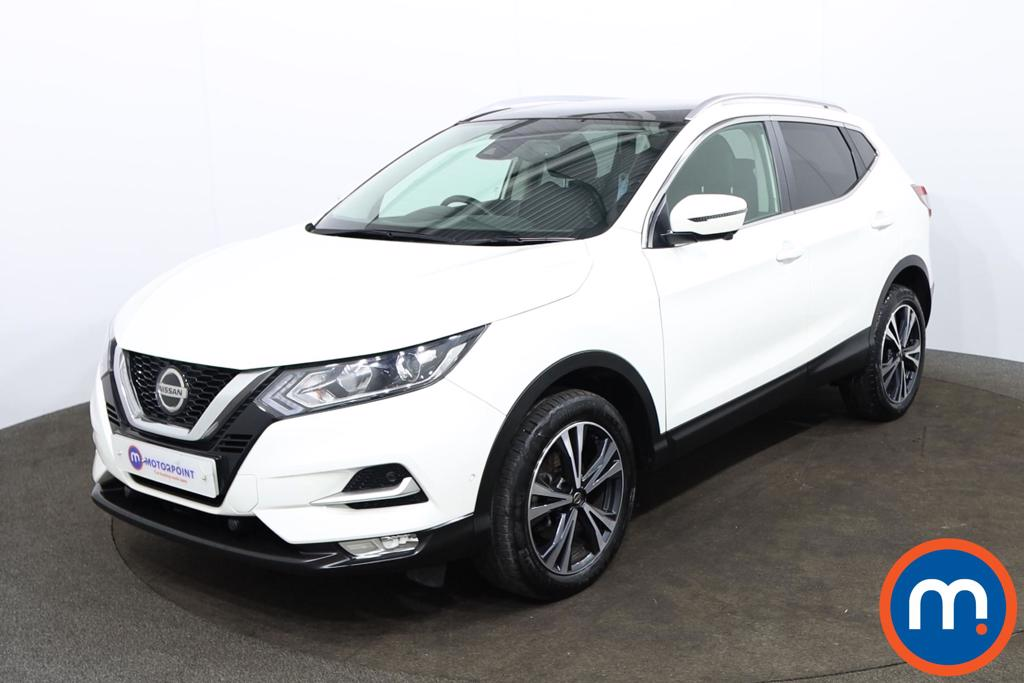 Nissan Qashqai 1.3 DiG-T N-Connecta 5dr [Glass Roof Pack] - Stock Number 1178911 Passenger side front corner