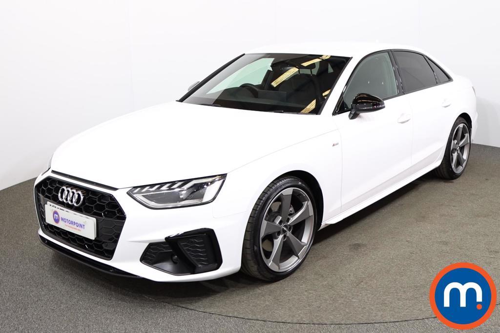 Audi A4 35 TDI Black Edition 4dr S Tronic - Stock Number 1180083 Passenger side front corner