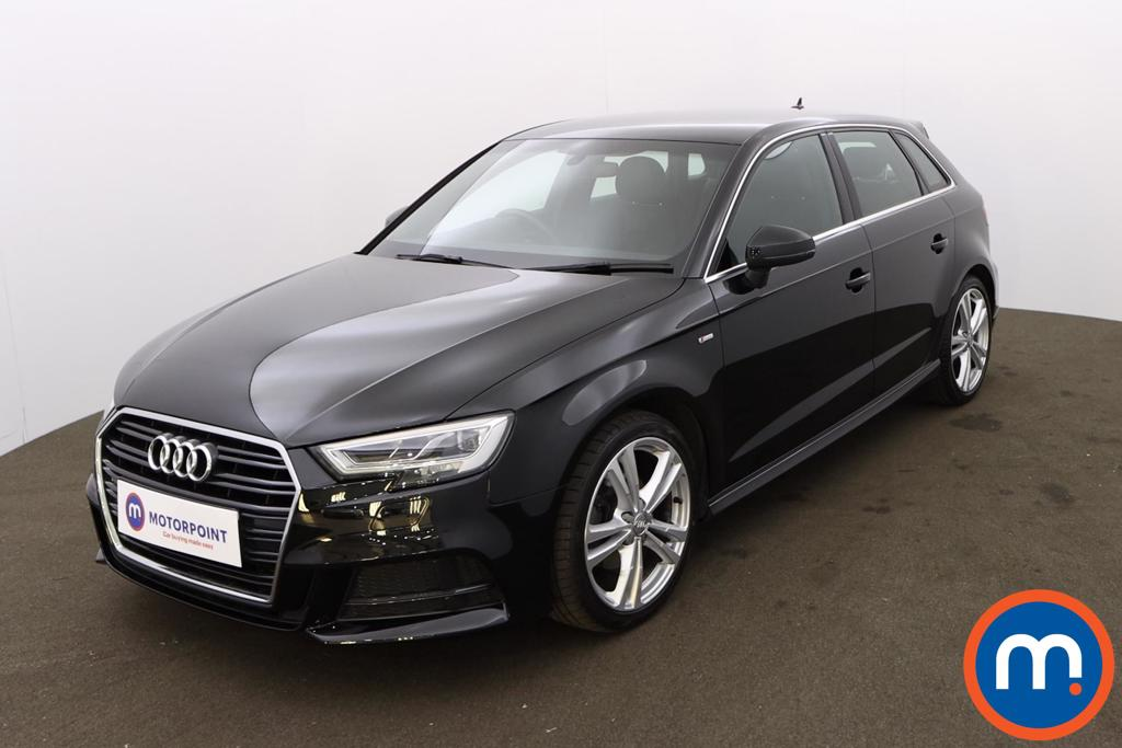Audi A3 30 TFSI 116 S Line 5dr S Tronic [Tech Pack] - Stock Number 1175801 Passenger side front corner