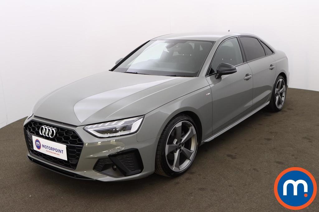 Audi A4 35 TFSI Black Edition 4dr - Stock Number 1180005 Passenger side front corner