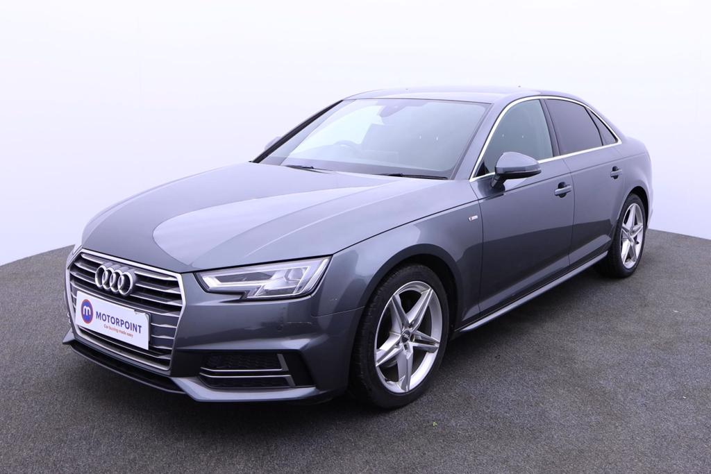 Audi A4 2.0T FSI S Line 4dr S Tronic [Leather-Alc] - Stock Number 1180541 Passenger side front corner