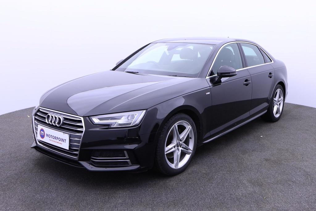 Audi A4 1.4T FSI S Line 4dr [Leather-Alc] - Stock Number 1180738 Passenger side front corner