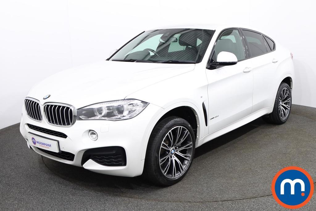 BMW X6 xDrive40d M Sport 5dr Step Auto - Stock Number 1181551 Passenger side front corner