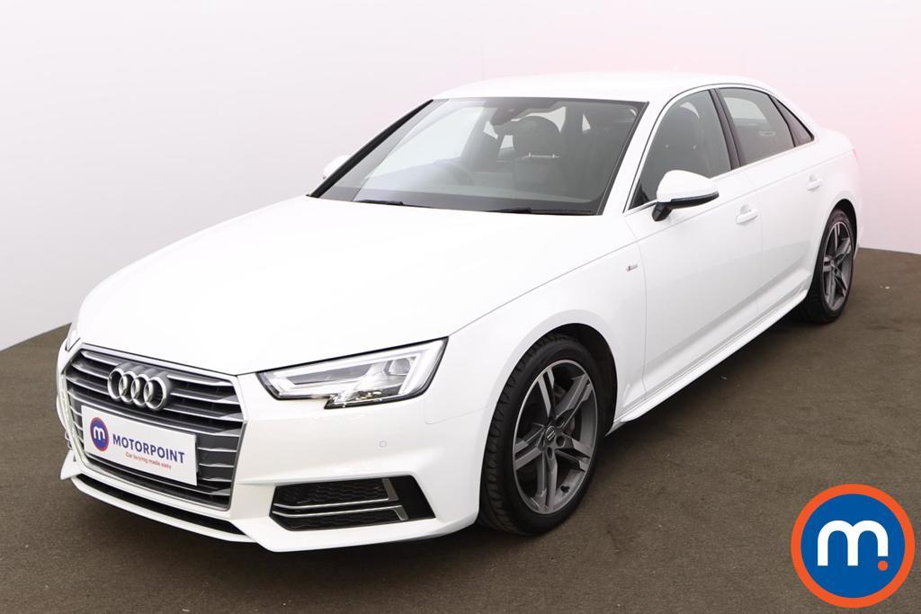 Audi A4 2.0 TDI Ultra 190 S Line 4dr [Leather-Alc] - Stock Number 1179295 Passenger side front corner