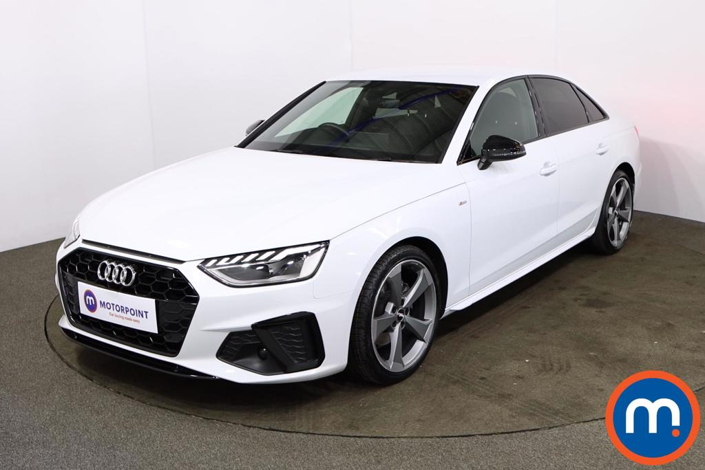 Audi A4 35 TDI Black Edition 4dr S Tronic - Stock Number 1180067 Passenger side front corner