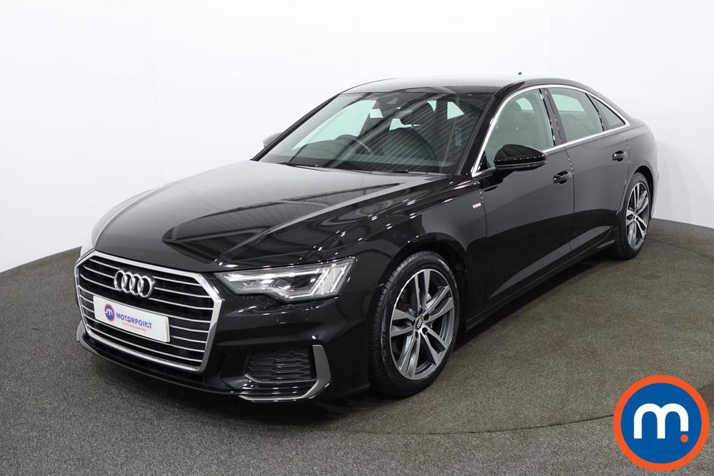 Audi A6 40 TDI S Line 4dr S Tronic - Stock Number 1181101 Passenger side front corner