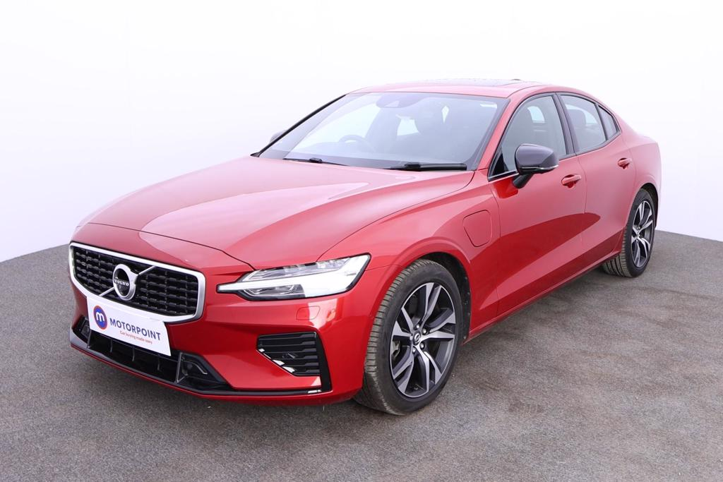 Volvo S60 2.0 T8 Hybrid R DESIGN Plus 4dr AWD Auto - Stock Number 1184524 Passenger side front corner