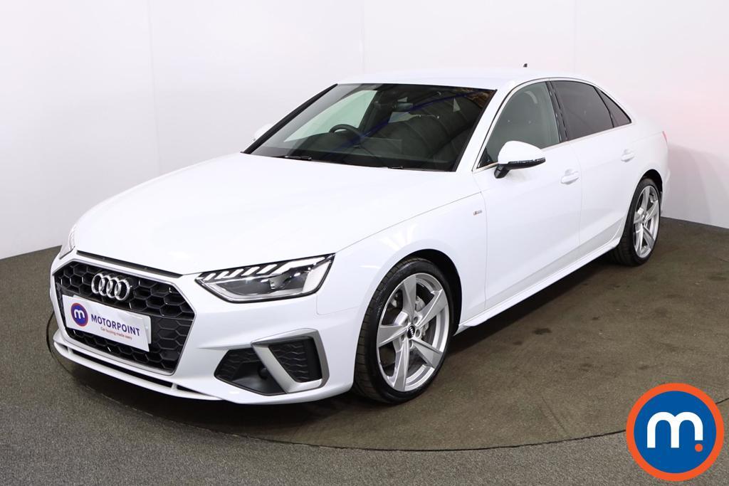 Audi A4 40 TFSI 204 S Line 4dr S Tronic - Stock Number 1178604 Passenger side front corner