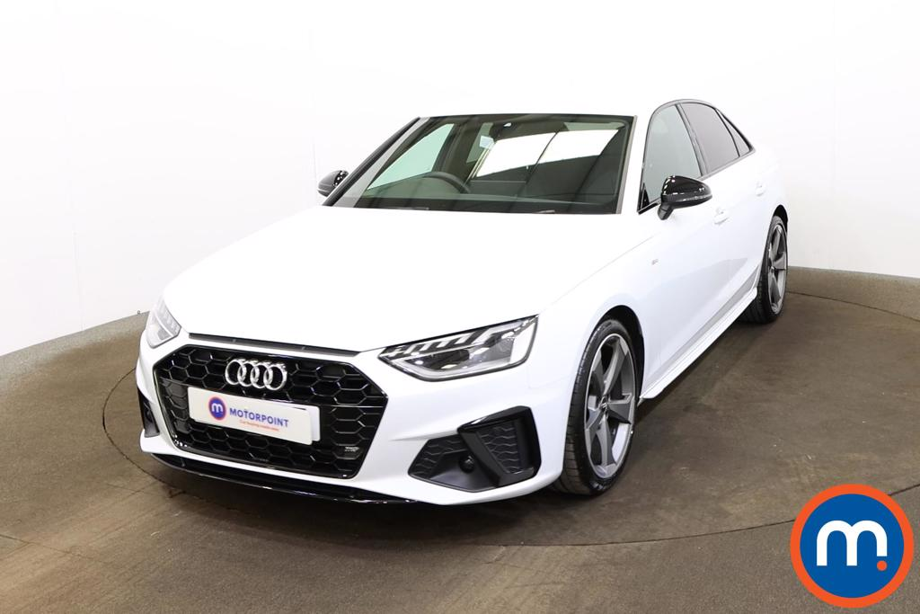 Audi A4 35 TFSI Black Edition 4dr - Stock Number 1179983 Passenger side front corner