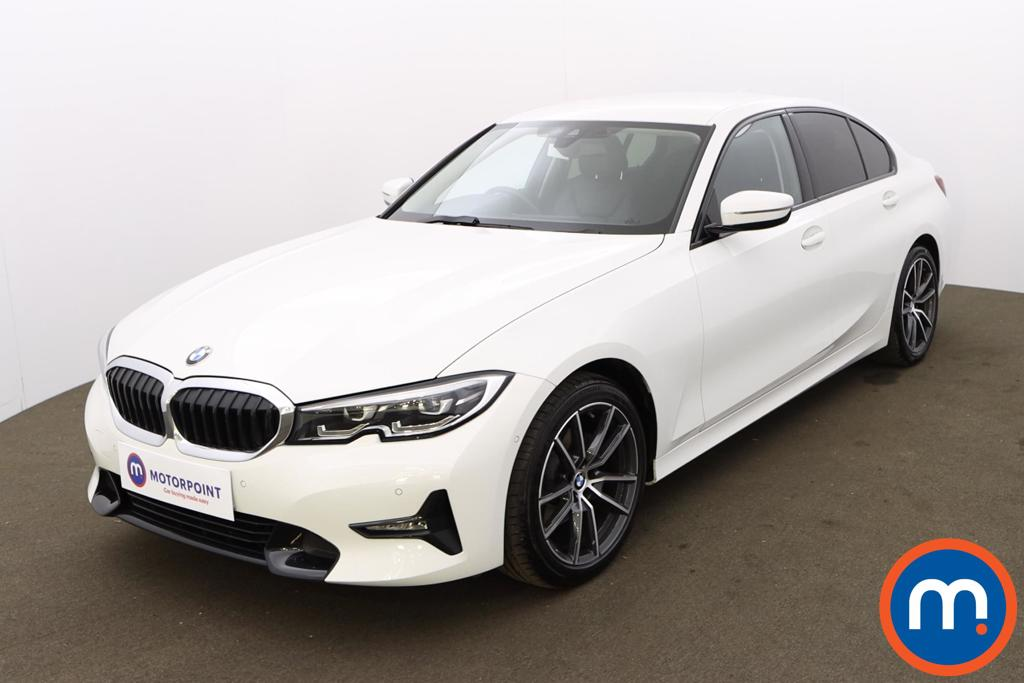 BMW 3 Series 320i Sport 4dr Step Auto - Stock Number 1178588 Passenger side front corner