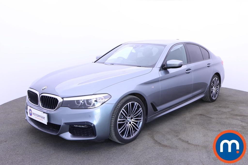 BMW 5 Series 520d xDrive M Sport 4dr Auto - Stock Number 1182589 Passenger side front corner