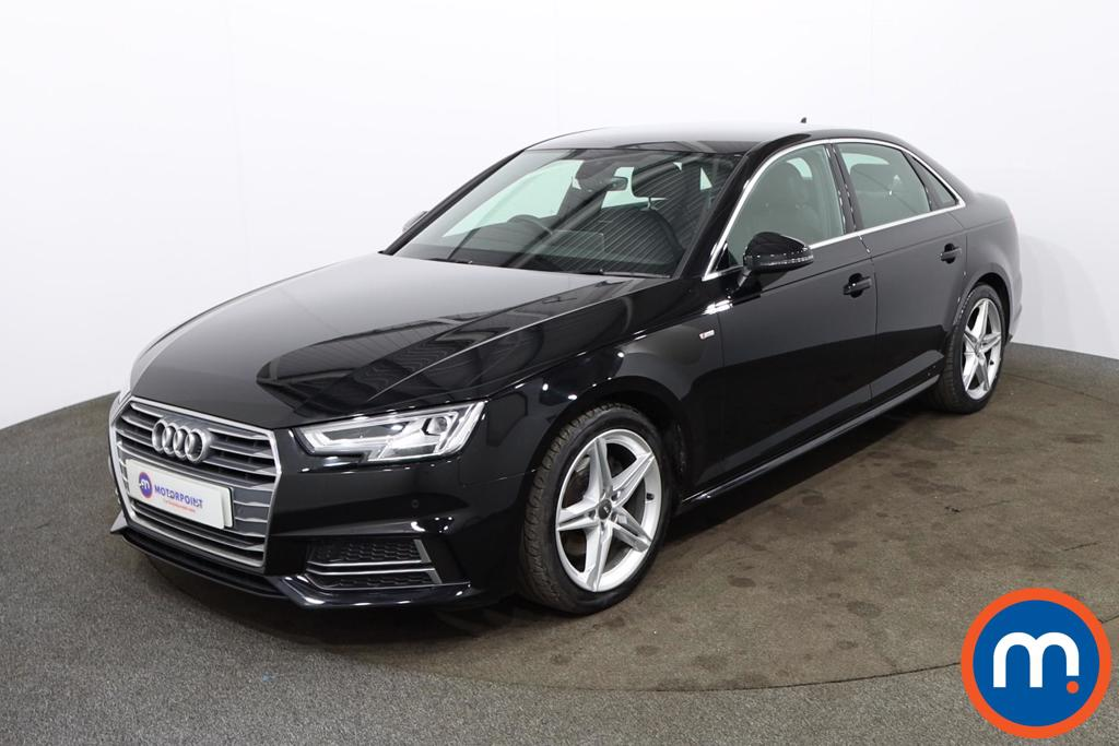 Audi A4 1.4T FSI S Line 4dr [Leather-Alc-Tech Pack] - Stock Number 1182734 Passenger side front corner
